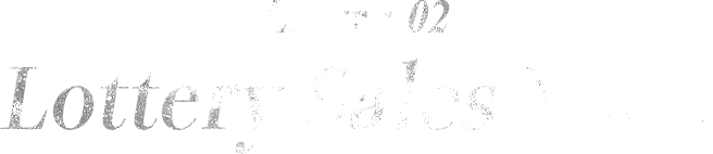 Layer : 02 Lottery Sales